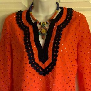 MAJOR $$ DOWN💜J. CREW blouse/coverup, runs big